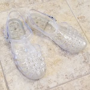 Kali Great Condition Clear Jellies Sandals